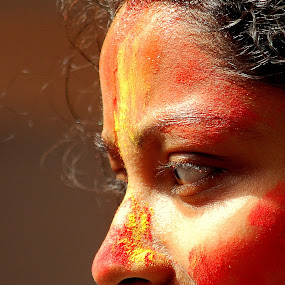 Face by Swarup Roy Chowdhury - People Portraits of Women