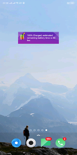 Battery 100% Alarm 4.2.8 screenshots 8