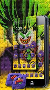 Lego  theme Clown graffiti theme - náhled