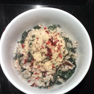 Creamy Coconut Kale Risotto