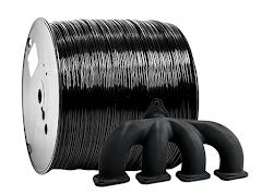 Black PRO Series ABS Filament - 2.85mm (10lb)