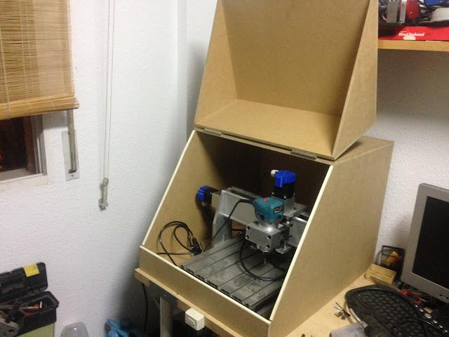 Cabina para insonorizar un router cnc - Insonorizar estudio ...