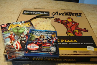 """Photo: With the release of Avengers on DVD, we we excited to have a 'Pizza & A Movie"""" night!"""