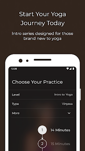 Yoga | Down Dog | Vinyasa Hatha Ashtanga Chair App Download For Android and iPhone 4