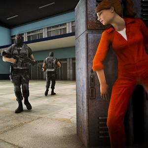 Secret Woman Agent Escape: Stealth Survival Game