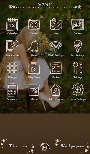 Vintage Bouquet +HOME Theme 1.0.0 Windows u7528 2