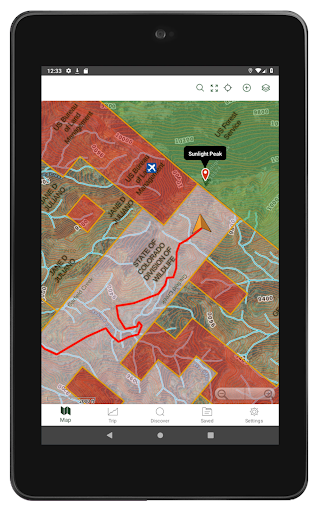 Gaia GPS: Hiking, Hunting Maps screenshot 11
