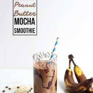 Peanut Butter Mocha Smoothie.
