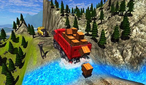 Truck Driver Cargo APK MOD screenshots 2