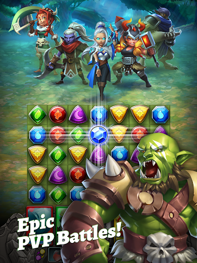 Dragon Strike: Puzzle RPG apktram screenshots 9