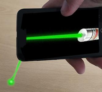 Simulator laser pointer screenshot 2