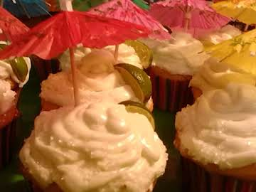 Margarita Cupcakes for the Holidays