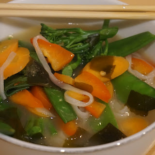 5 Minute Soup – Vegetable Miso Soup with Noodles Recipe  Recipe