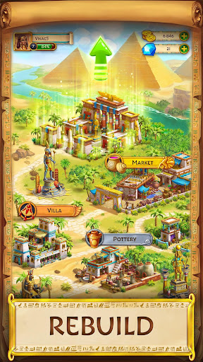 Jewels of Egypt: Match Game 1.6.600 screenshots 2