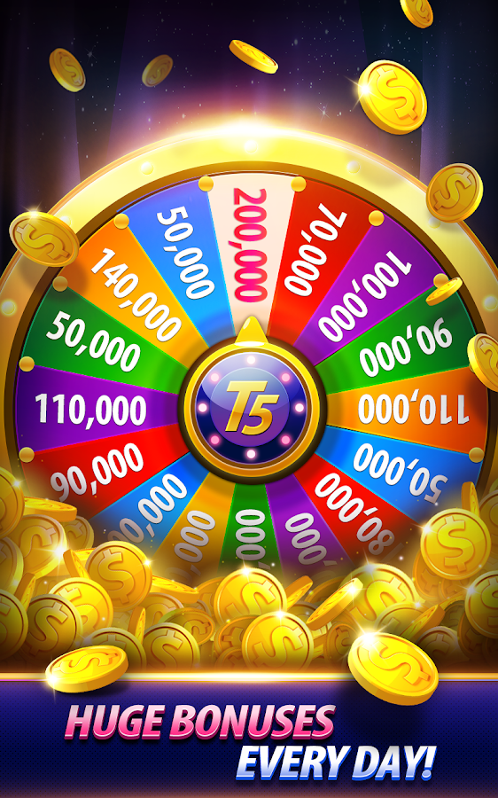 free coins for take 5 slots