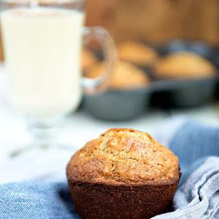 Holiday Oatmeal Eggnog Muffins Recipe