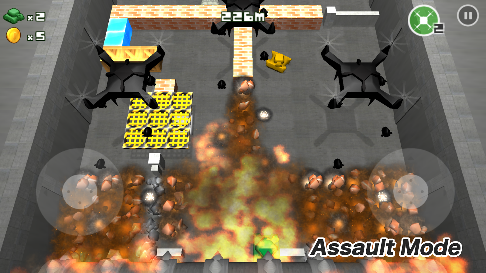 Pocket Tank Bang- screenshot