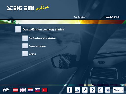 STEIG EIN! Online- App 2.0.7 screenshots 9