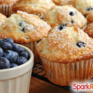 100 Calorie Blueberry Muffins