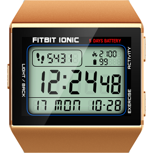 Classic Digital Faces - Watchface for Fitbit Ionic - Apps on Google