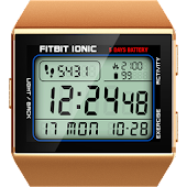 Classic Digital Faces - Watchface for Fitbit Ionic