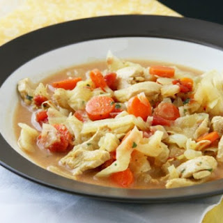 Weight Watchers Thai Turkey Stew