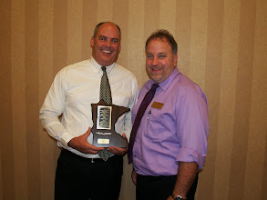 Photo: Middle School Teacher Excellence winner ~ Paul Wiehe - Centennial Middle