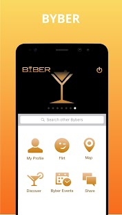 BYBER – Meet New People,Connect & Discover Places- screenshot thumbnail