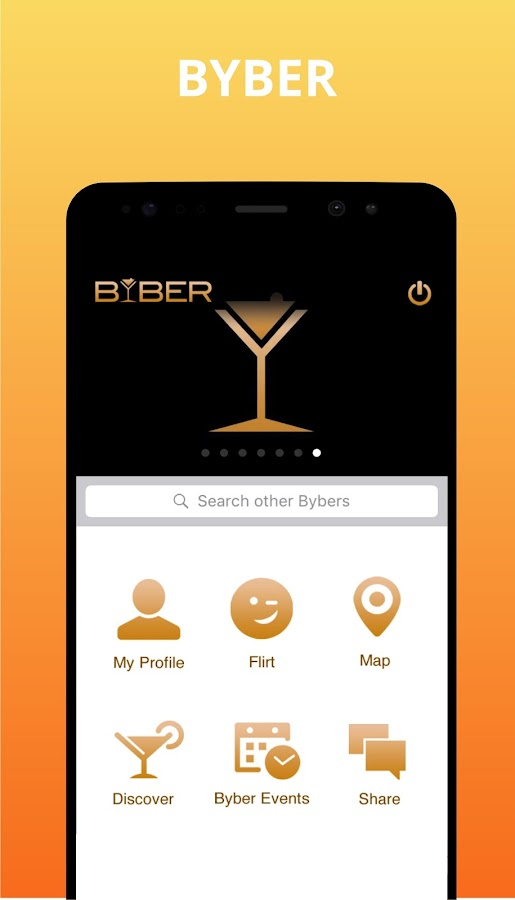 BYBER – Meet New People,Connect & Discover Places- screenshot