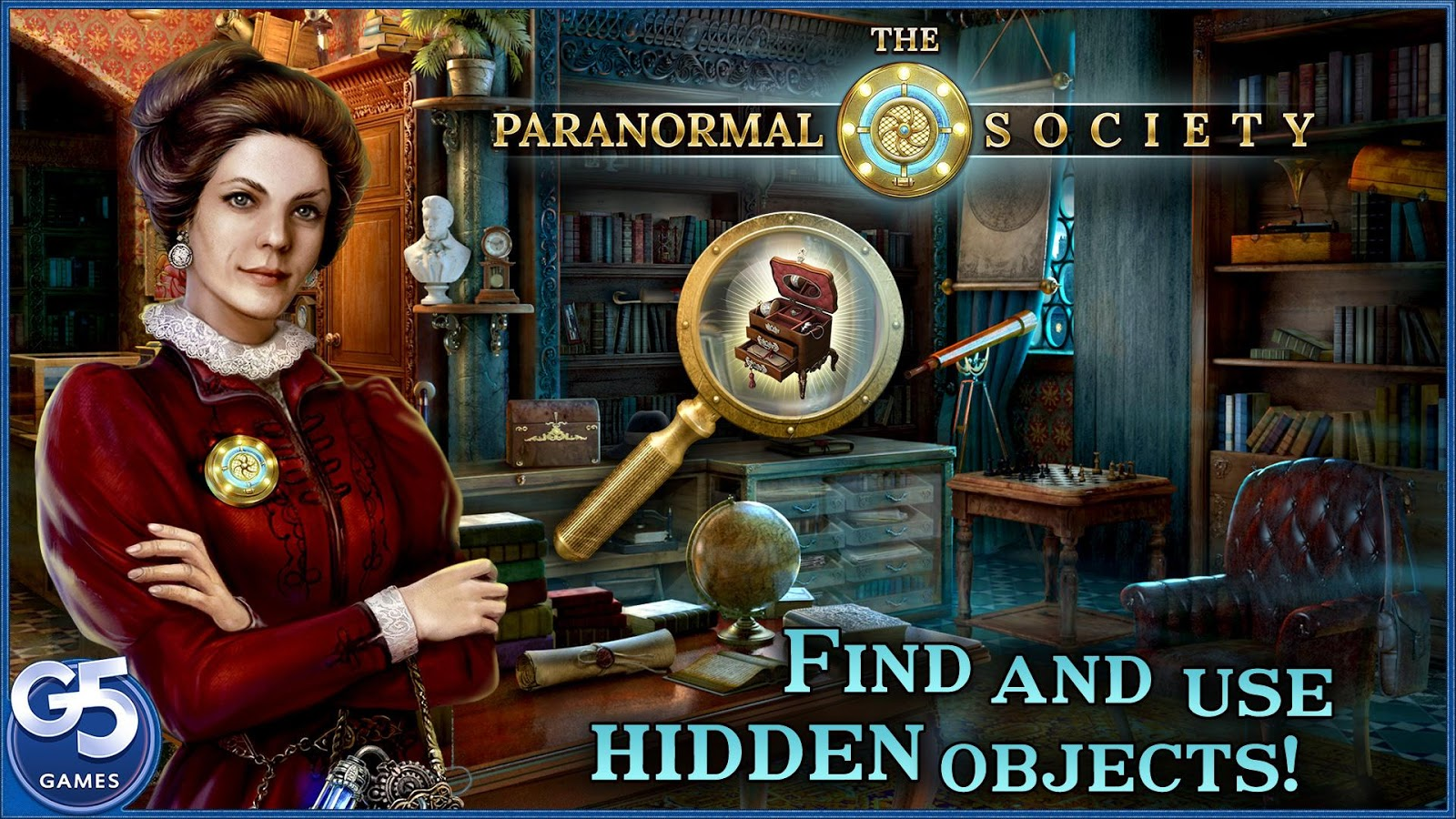 The Paranormal Society™: Hidden Adventure- screenshot