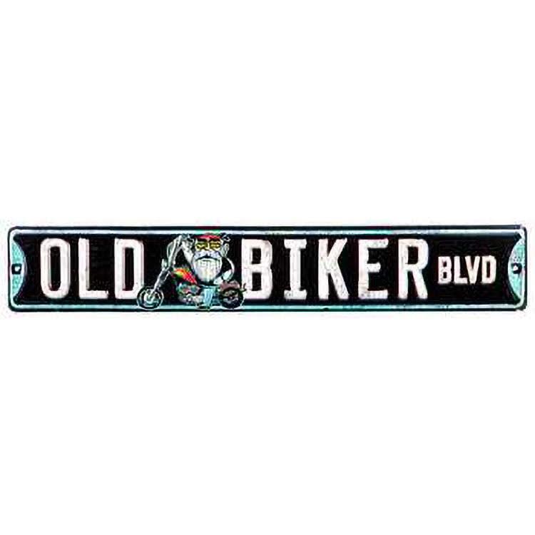 """Metal Street Sign Harley Motorcycle Biker Bar 3/""""x18/"""" Road Glide Way"""