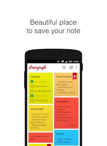 Stenograph Note App