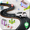 GPS Route Finder NavigationMap icon