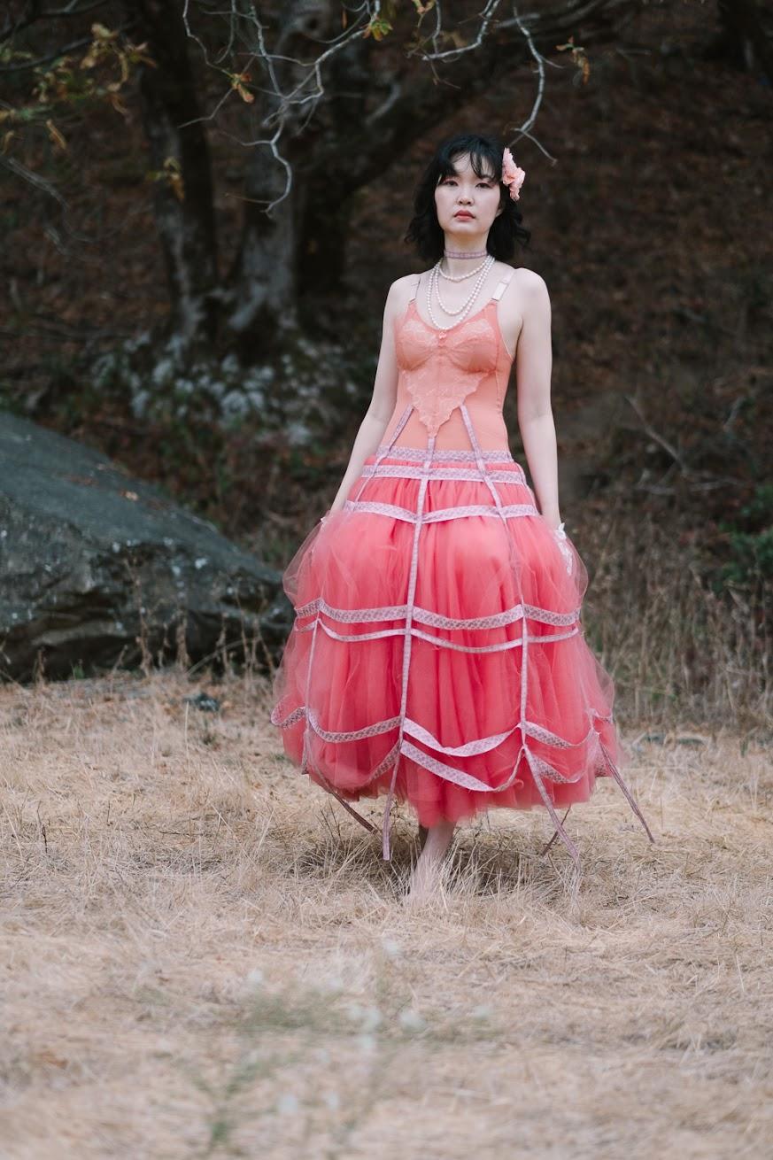 Styling: Bubblegum Dreaming Cage Dress - DIY Fashion Garment | fafafoom.com