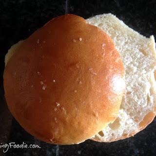 Homemade Hamburger Buns.