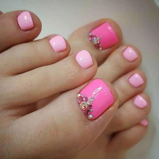 Cute toe nail designs by zaeena (Google Play, United States