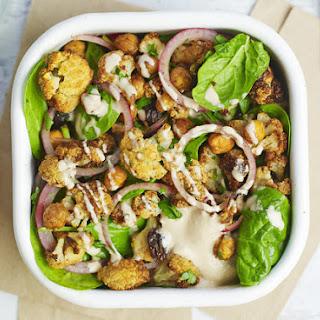 Roast Cauliflower And Chickpea Salad