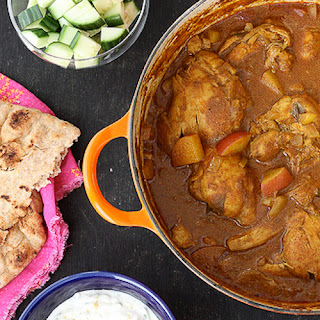 Mum's Chicken & Potato Curry