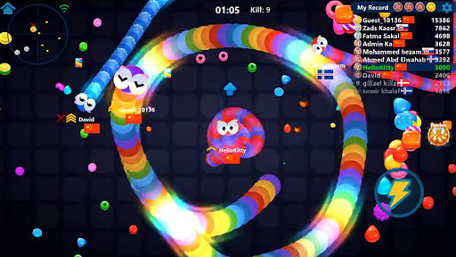 Snake Candy.IO - Real-time Multiplayer Snake Game 3189.3.6.4 screenshots 9