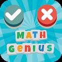 True Or False - Math Genius icon