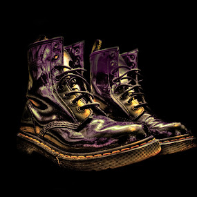 dr martens, boots, hdr by Jade Newman - Artistic Objects Clothing & Accessories