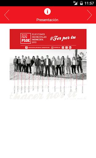 App PSOE Moncofa