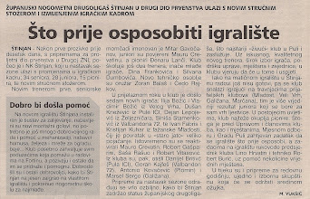 Photo: Glas Istre 18.02.2004 Igralište