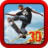 Speeding 3D Skateboard Games