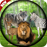 Wild Life Animals Hunter Africa Icon