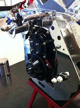 Photo: Hier de Aluminium motorplaat voor het gewicht goed te zien.