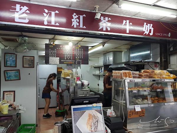 老江紅茶牛奶-南台店  開業65年讓人著迷的紅茶牛奶~24小時不打烊!簡單起司蛋吐司味道卻不簡單的美味!近六合夜市!