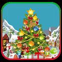 Merry Christmas Live Tree Decoration icon