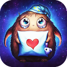 Booboo : Cute little monster Live Wallpaper free icon
