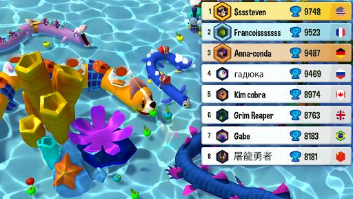 Snake Rivals - New Snake Games in 3D apktram screenshots 6